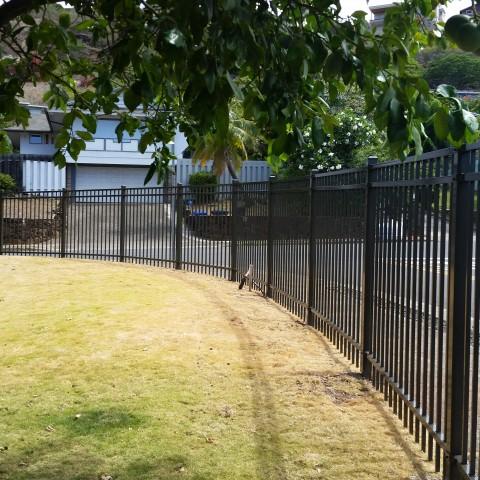 Ornamental Flat Top Fence