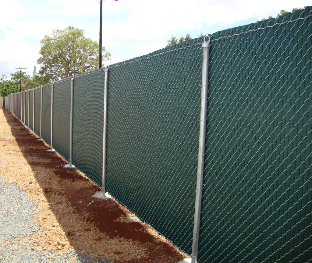 Chain Link Fence Slats 1 Allied Security Fence