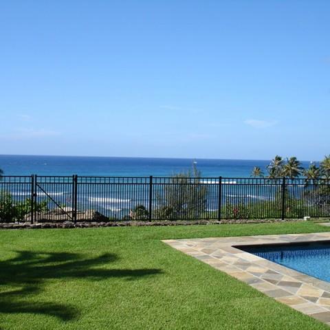 Oahu Ornamental Pool Fence