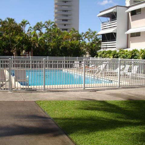 Oahu Ornamental Pool Fences