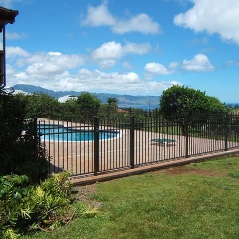 Oahu Ornamental Pool Fencing