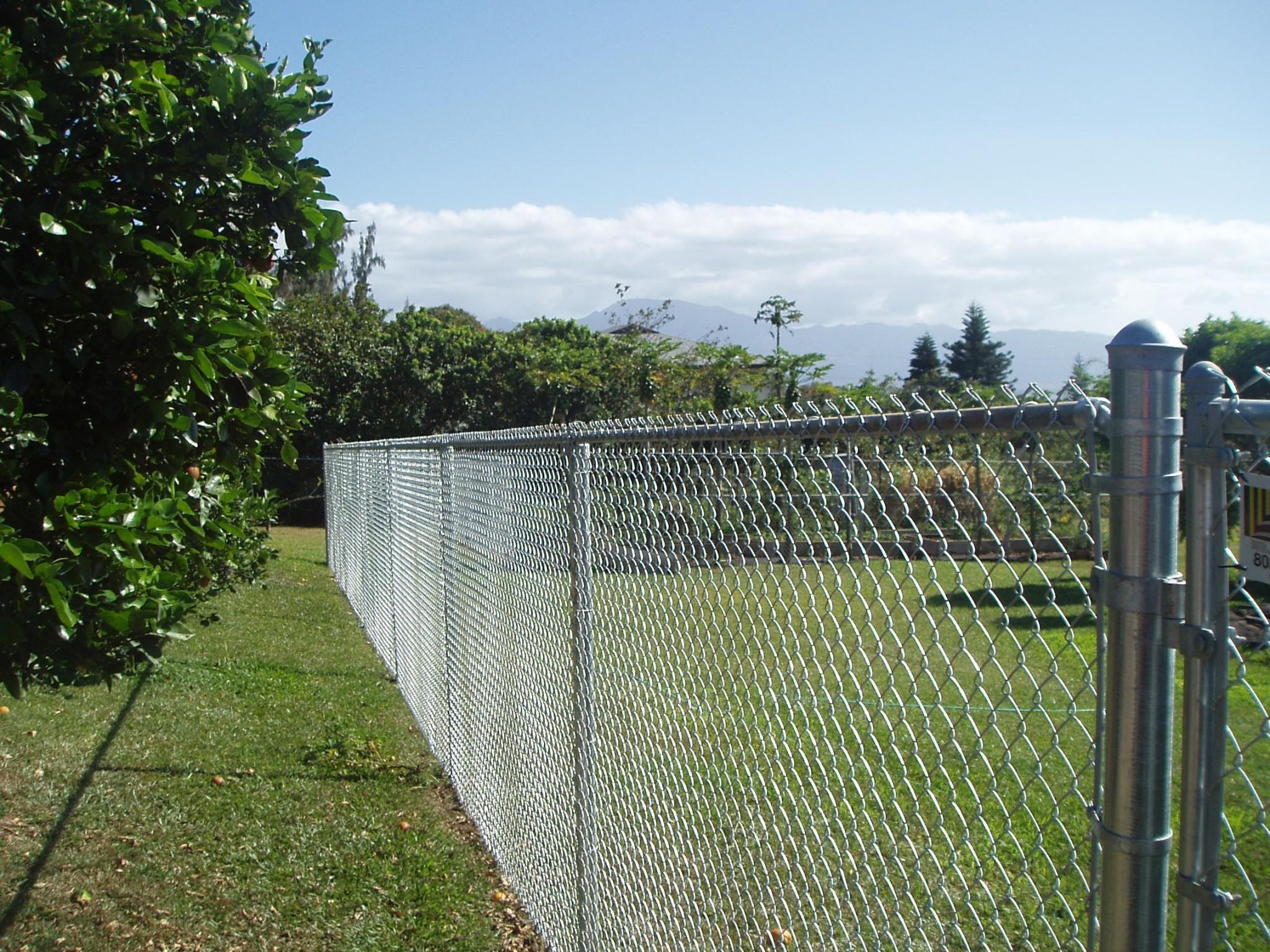 Hawaii-Chain-Link-Fence