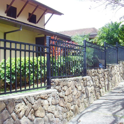 Ornamental-Fence-Rock-Wall-2