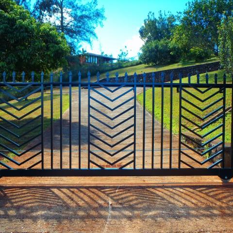 Ornamental Slide Gate Spear Top