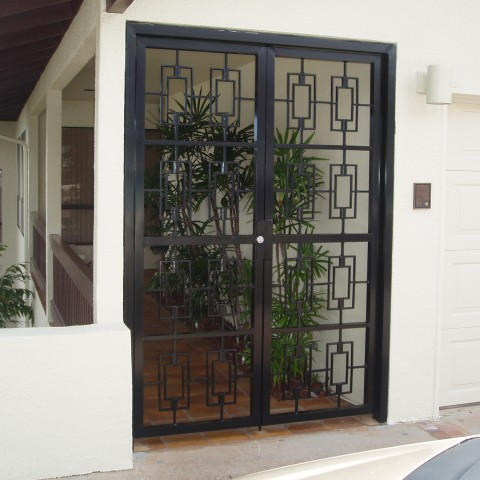 Ornamental Security Swing Gate