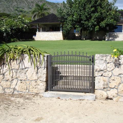 Aluminum Main Gate