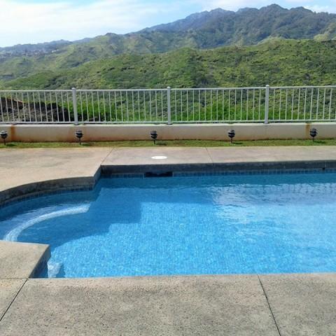 Hawaii Pool Fence
