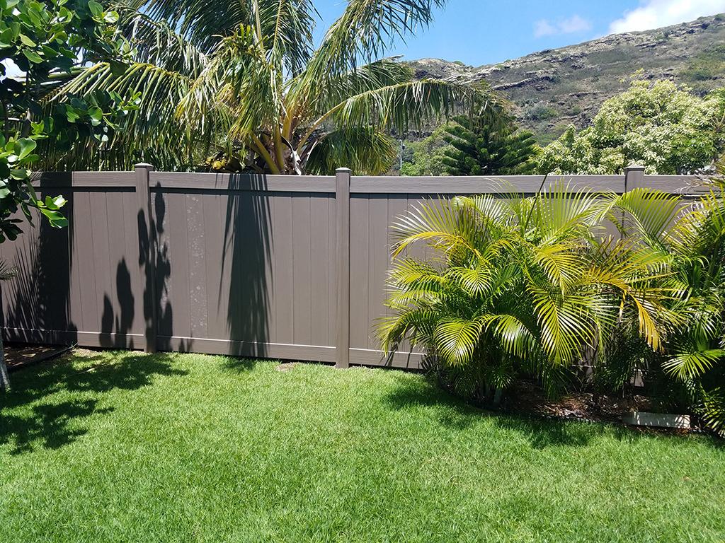 Vinyl Residential Fence