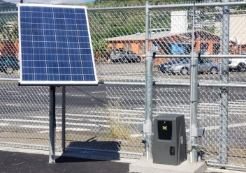 Gate Operator with Solar Power